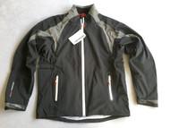Benross X-Tex Mens Waterproof Golf Jacket Black Charcoal Large