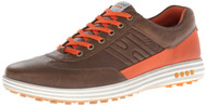 Ecco Mens Street Evo One Golf Shoes Birch/Burnt Ochre Size 43