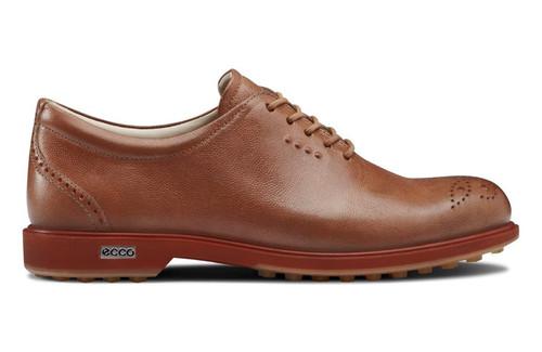 Ecco Womens Classic Hybrid Golf Shoes Lion/Burnt Ochre