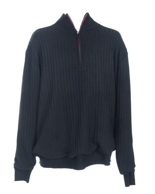JRB Mens Windstopper Lined Golf Sweater Black