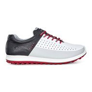 Ecco Mens Biom Hybrid 2 Golf Shoes White/Concrete/Black