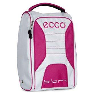 Ecco Golf Shoe Bag White/Candy