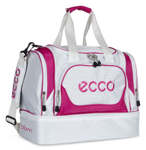 Ecco Carry All Sports Bag White/Candy