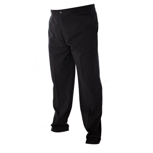 JRB Mens Dry Fit Golf Trousers Black