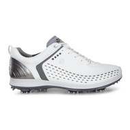 Ecco Mens Biom G2 Golf Shoes White/Dark Shadow