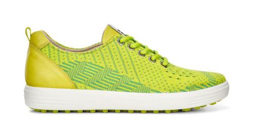 Ecco Womens Casual Hybrid Golf Shoes Lime Sulphur