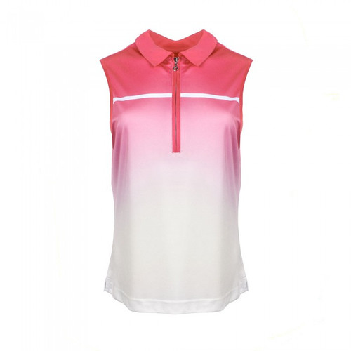 JRB Ladies Sublimation Sleeveless Golf Shirt