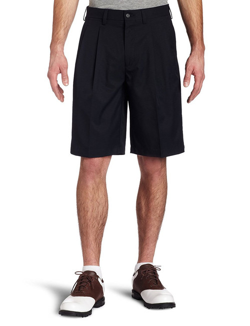 """Callaway Mens Double Pleat Twill Shorts Mens Anthracite 32"""""""