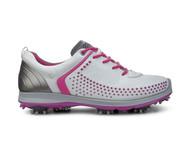 Ecco Womens Golf Biom G2 White/Candy