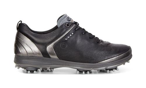 Ecco Women's Biom G2 Goretex Golf Shoes Black Transparent