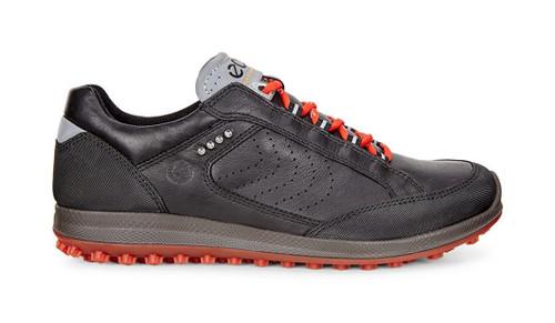 Ecco Womens Biom Hybrid 2 Goretex Golf Shoes Black Titanium