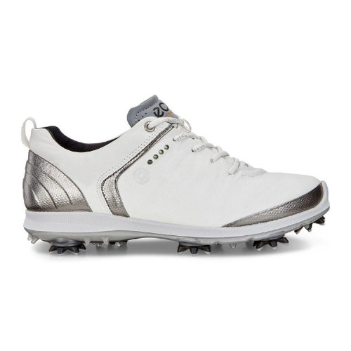 Ecco Women's Biom G2 Goretex Golf Shoes White Dark Shadow