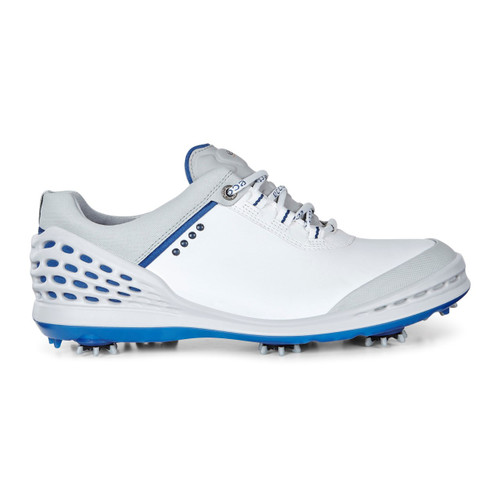 Ecco Mens Cage Golf Shoes White/Royal