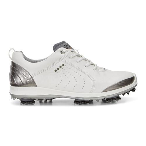 Ecco Women's Biom G2 Golf Shoes White Buffed Silver
