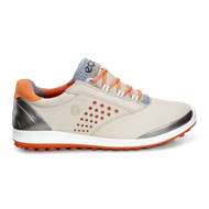 Ecco Womens Biom Hybrid 2 Golf Shoes Oyster Orange