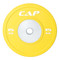 15 kg CAP Olympic Rubber Competition Bumper Plate with Steel Insert, yellow
