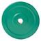 10 lb CAP Olympic Rubber Bumper Plate, green