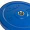 35 lb CAP Olympic Rubber Bumper Plate, blue