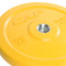 25 lb CAP Olympic Rubber Bumper Plate, yellow