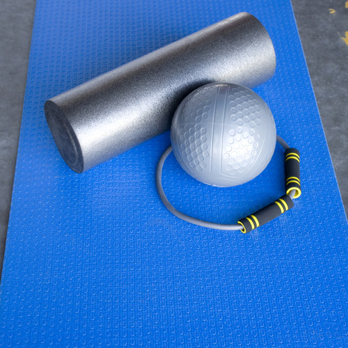 CAP Reversible Yoga Mat Featuring Accessories