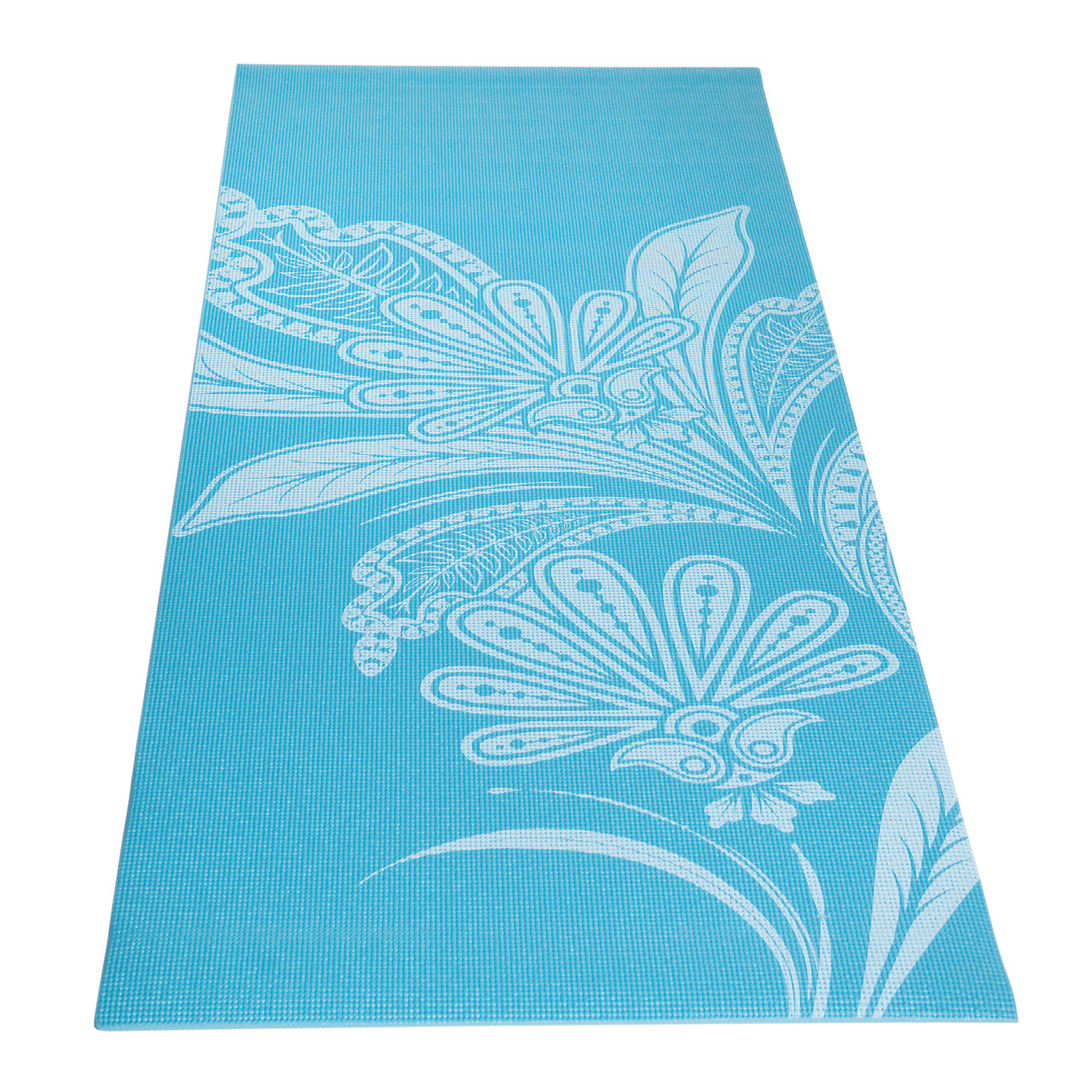 Tone Fitness Floral Patterned Yoga Mat (HHY-TN004T