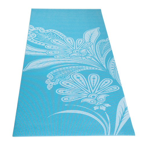 Tone Fitness Floral Patterned Yoga Mat, Full View