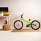 Bike on CAP 4-Piece Foam Tile Flooring with Wood Style Pattern