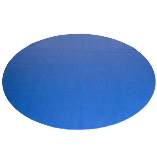 CAP Antimicrobial Multi-Use Round Activity Mat, Blue, 5 ft