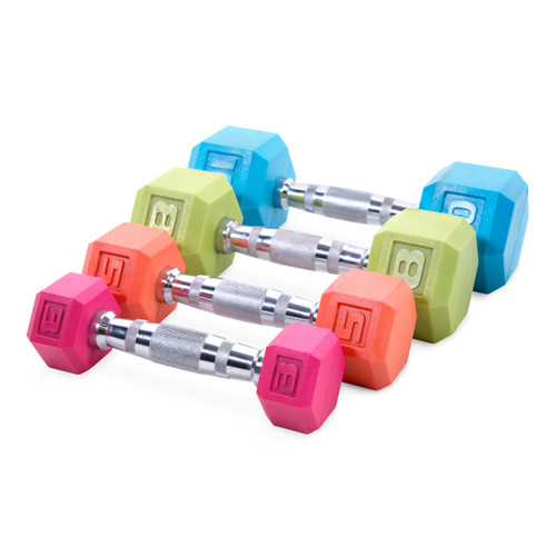 Cap Pvc Coated Color Hex Dumbbell Sdr2