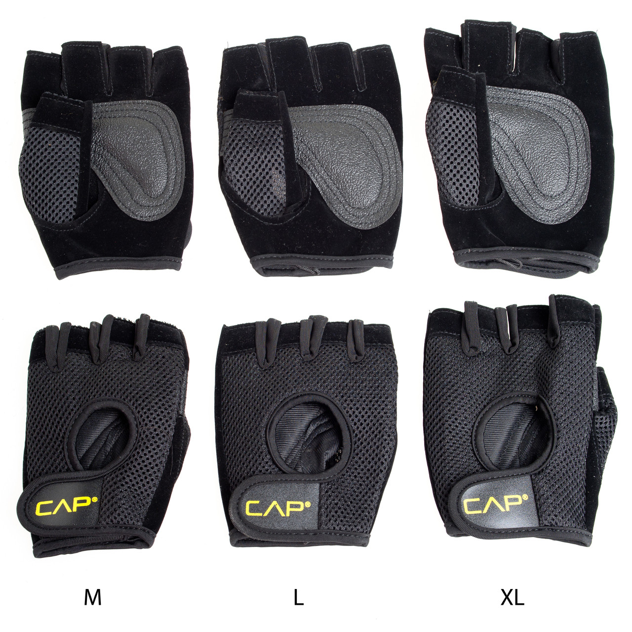 Mesh Weight Lifting Gloves: CAP Mesh Weightlifting Gloves (HHWG-CB001