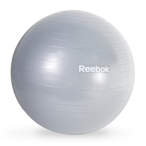Reebok Anti-Burst Gym Ball, Gray/Blue