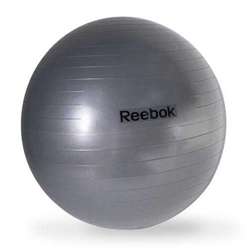 Reebok Anti-Burst Gym Ball, Dark Gray, logo