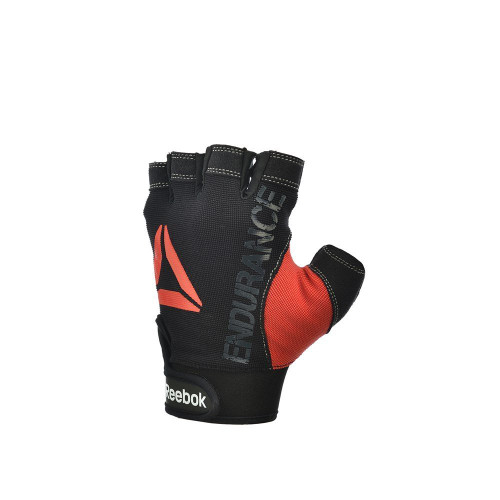 Reebok Strength Gloves, Black, Design view