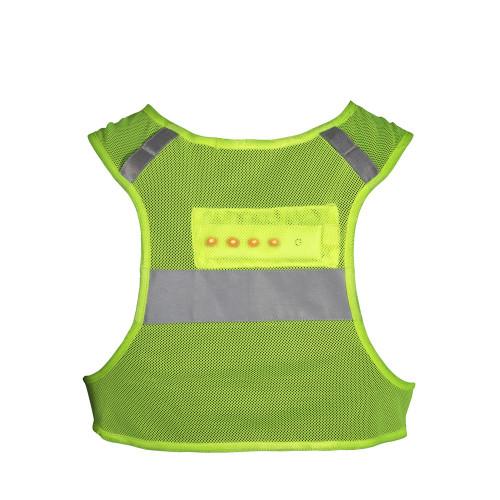 Reebok LED Running Vest, back view