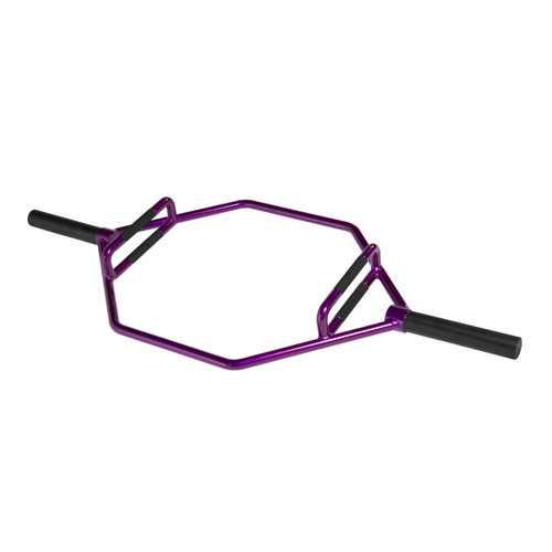 CAP Barbell Olympic 2-Inch Combo Hex Bar, Electric Grape Purple (OB-89HZ-PL)