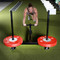 Model pushing Texas Power Concepts Prowler Style Sleds