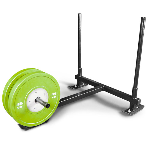 Texas Power Concepts Prowler Style Sleds with weight plates