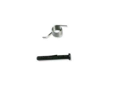 Shown Port Lid Pin and Spring.  Order Seperately.