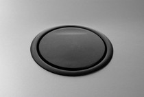 Port Replacement Lid    BLACK plastic