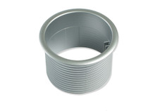 Port Replacement Collar (Sleeve) SILVER Plastic (Gray)