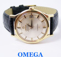 Vintage 14k OMEGA CONSTELLATION  PIE PAN Automatic Watch 1960s Cal 561* MINT