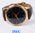 Vintage 18k Rose Gold IWC SHAFFHAUSEN Winding Watch c.1960s Cal.89* EXLNT* SERVICED
