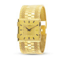 NOS 18K Gold JUVENIA MACHO Mens 25J AUTOMATIC Watch 8902* 1 Year Store Warranty!