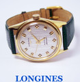 Vintage 14k LONGINES GRAND PRIZE Automatic Watch 2537 1960's Cal.340* SERVICED