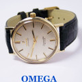 Solid 14k OMEGA SEAMASTER De VILLE Automatic Watch 1960s Cal.550* EXLNT SERVICED
