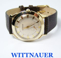 Mens 10k GF WITTNAUER Winding Watch 1940s Cal 76/2* EXLNT Condition* SERVICED