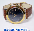 Mens S/Steel & 18k GP RAYMOND WEIL TANGO Slim Watch Ref.5560* EXLNT* Serviced