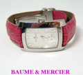 Ladies S/Steel BAUME & MERCIER Watch Ref 65309 in Excellent Conwition