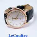 Vintage 18k Rose LeCOULTRE Winding Mens Watch 1950s Cal.K480/CW * EXLNT SERVICED