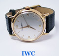 Vintage 18k Rose IWC SHAFFHAUSEN Winding Watch c.1950s Cal.89* EXLNT* SERVICED